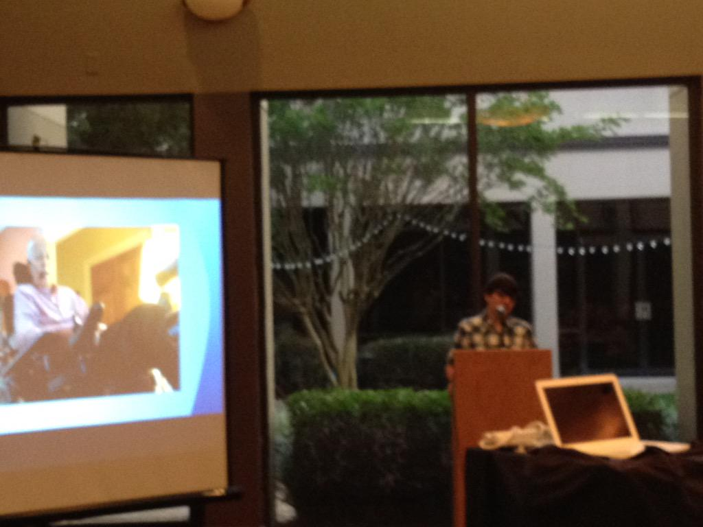 Here is a @mjgds mini-ELI Talk at a donor appreciation event...proud on many levels.  @ELI_talks @SchechterTweets http://t.co/0FnGIgSYVH