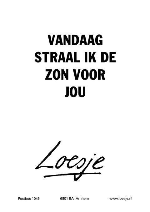 loesje lente spreuken Loesje v/d Posters on Twitter: