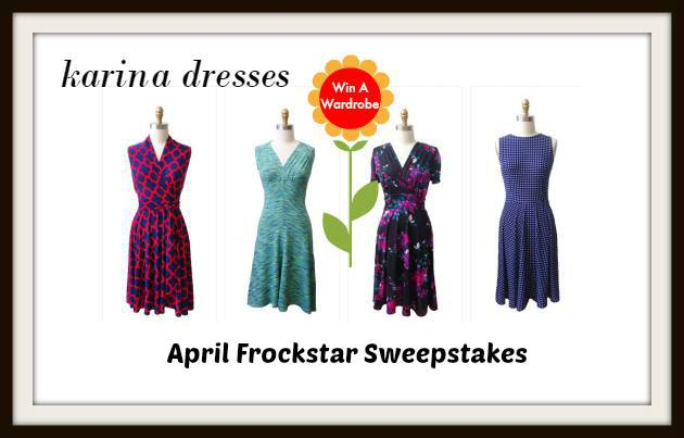 #Frockstar #KarinaDresses sweepstakes