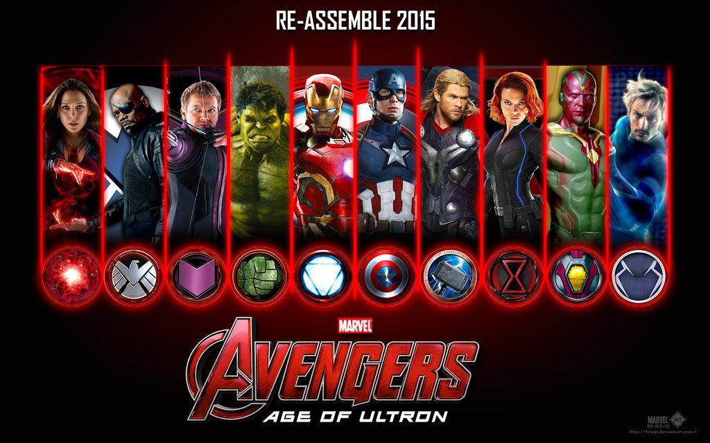 Recommend you avengers age of ultron characters