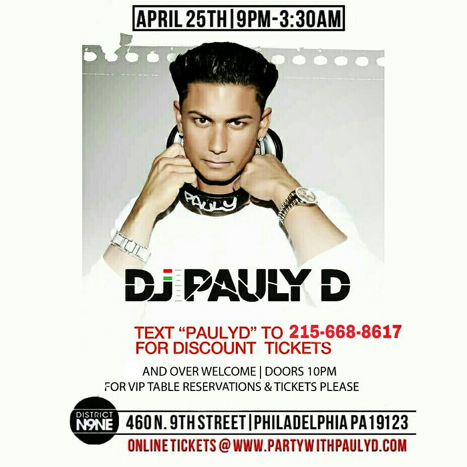 Philly  Nj Delaware..Yep! It's Going Down April 25th at @district_n9ne Wit @djpaulyd #girlsgonewild