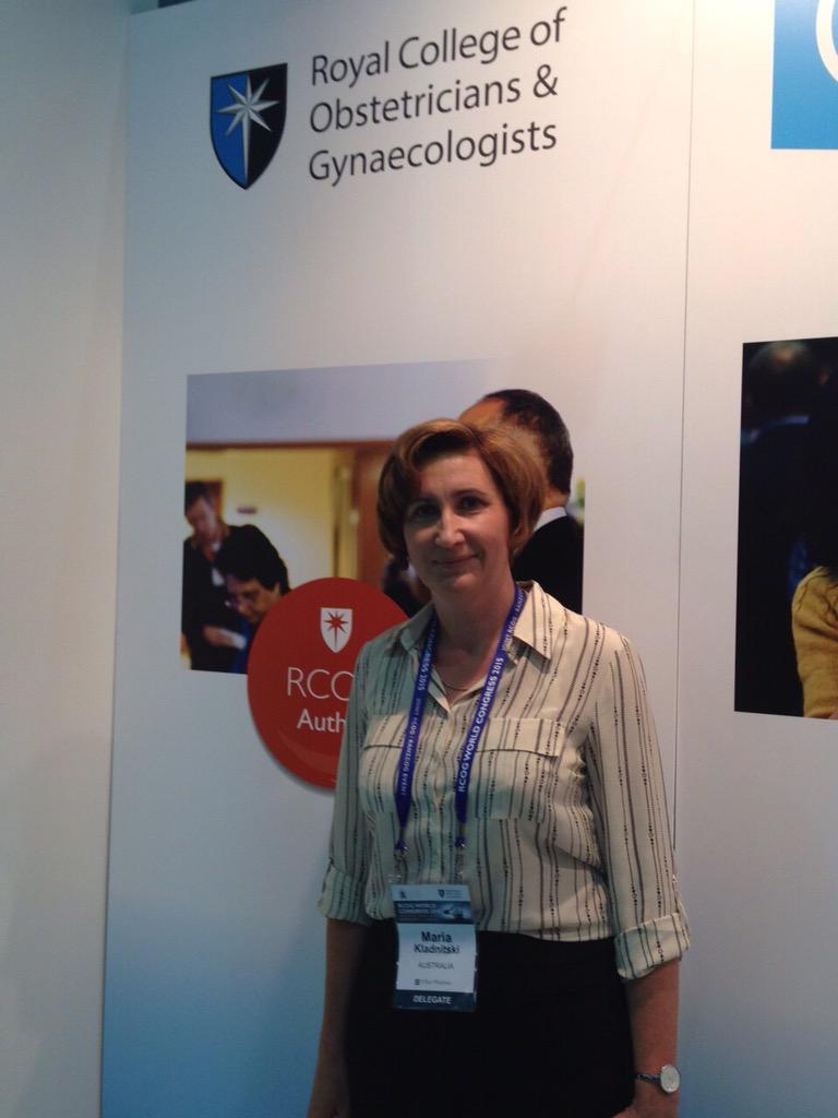 Congratulations to the first winner of our #RCOG2016 competition Maria Kladnitski! #RCOG2015 http://t.co/AW9Xbpp7pI