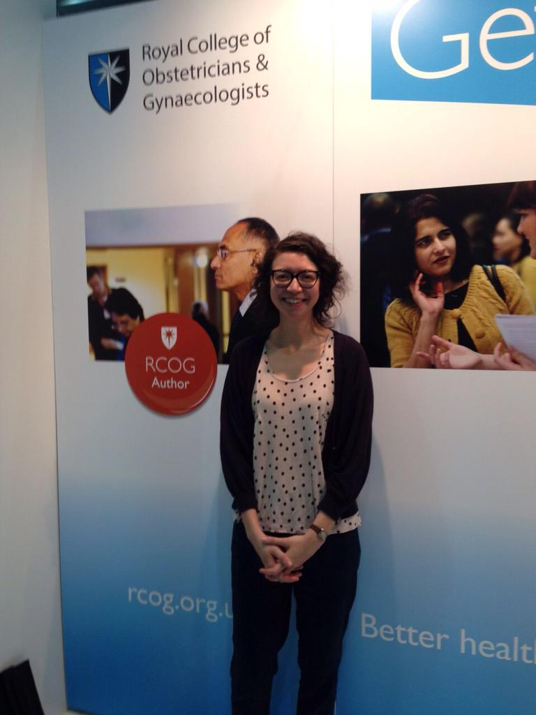 Our second winner for the competition to win a free registration to #RCOG2016 is Jennifer Beale #RCOG2015 http://t.co/S5OHiz9C9f