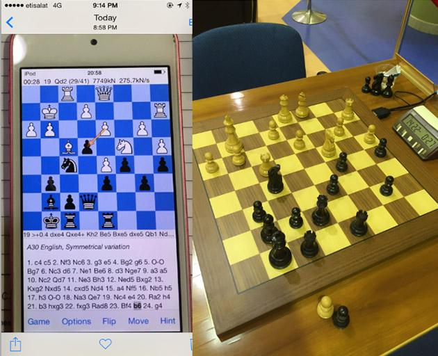 Chess champ's high-tech cheating scheme involved an iPod touch