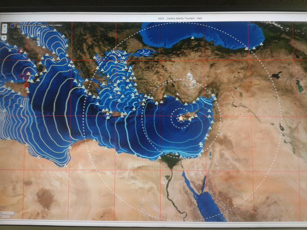 Centro Allerta Tsunami di INGV Terremoti riconosciuto dall'UNESCO