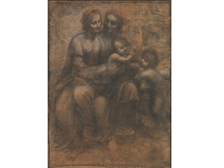 Happy birthday Leonardo da Vinci: Burlington House Cartoon @NationalGallery in best paintings http://t.co/p575cpLnr8 http://t.co/sQ84pUvQDR