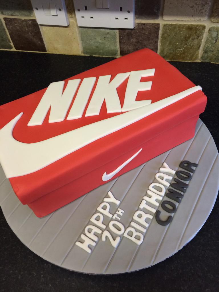 Nike Shoes Cake Design : Related Keywords & Suggestions for nike birthday cake