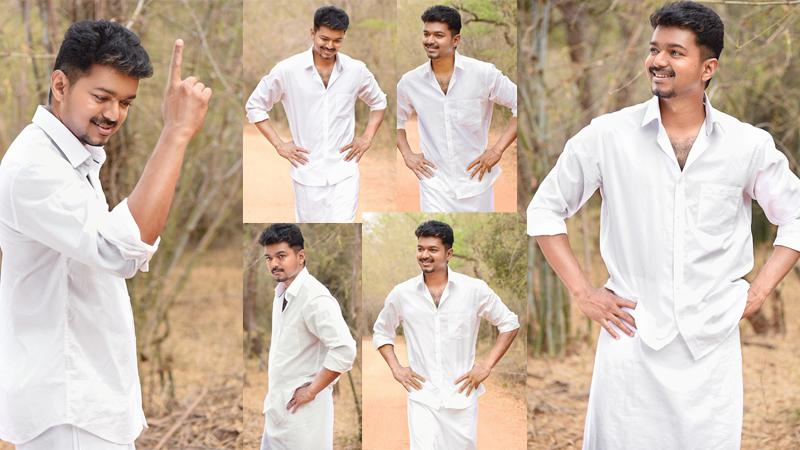 Costly set for Vijay's Puli intro song