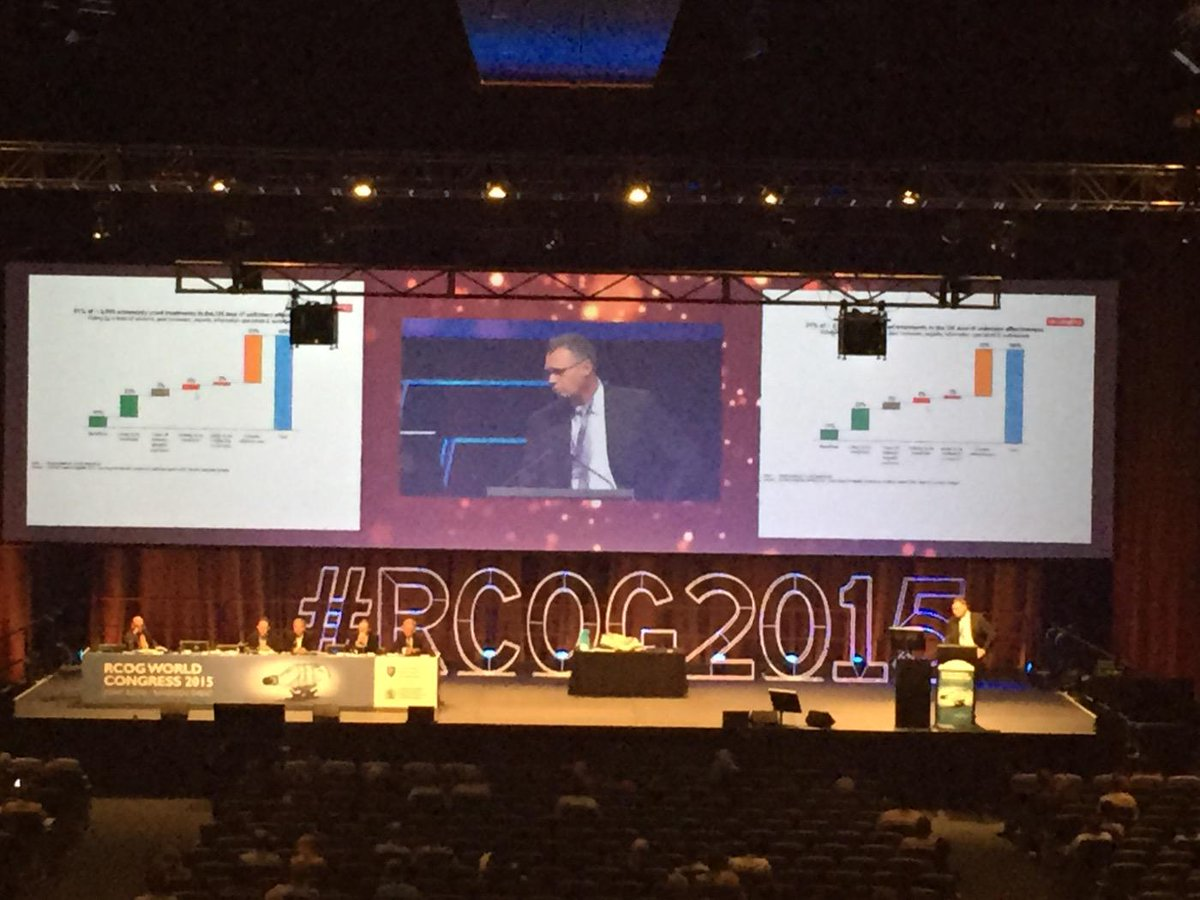 @bwmol responds we need trials we need a test to know what to do for our patients #RCOG2015 http://t.co/IAdVEjhc9v