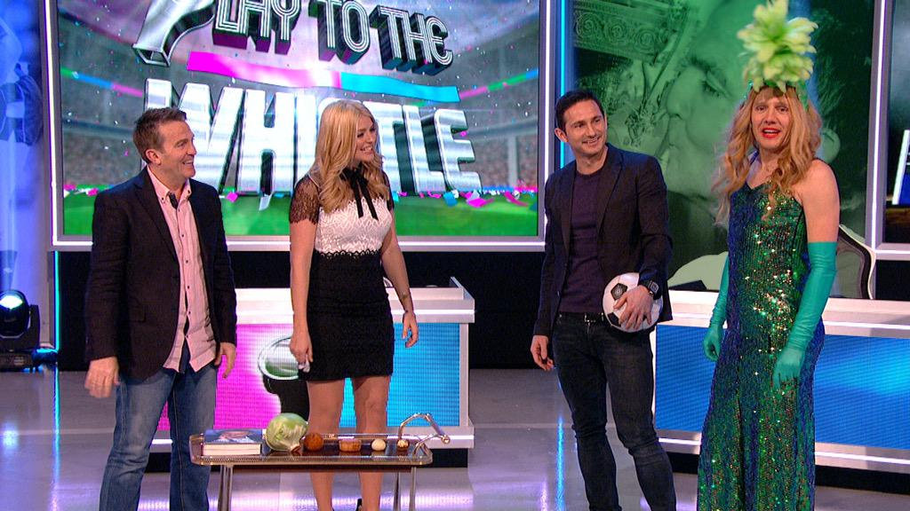 This may put you off your breakfast!  #PTTW this Saturday @ITV @BradleyWalsh Frank and of course @jimmybullard ha! X http://t.co/jiz6MMvHft