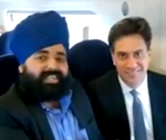 """@GuidoFawkes Exclusive [VIDEO] Not the Candidate Ed is Sikh-ing http://t.co/FTGfqEerNr http://t.co/huu6Qk1u1l"" well played @AmandeepBhogal"