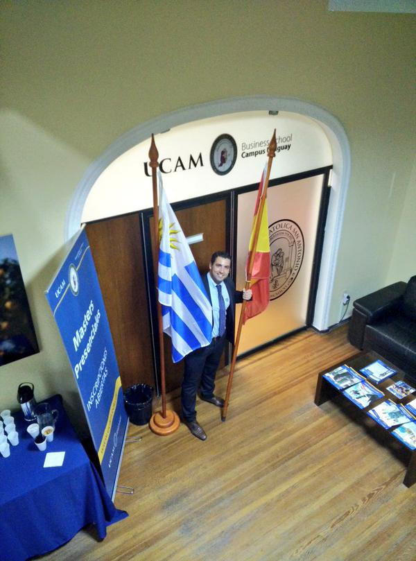 UCAM Business School URUGUAY has 5 active postgraduate degrees this year http://t.co/uO69I4xtye