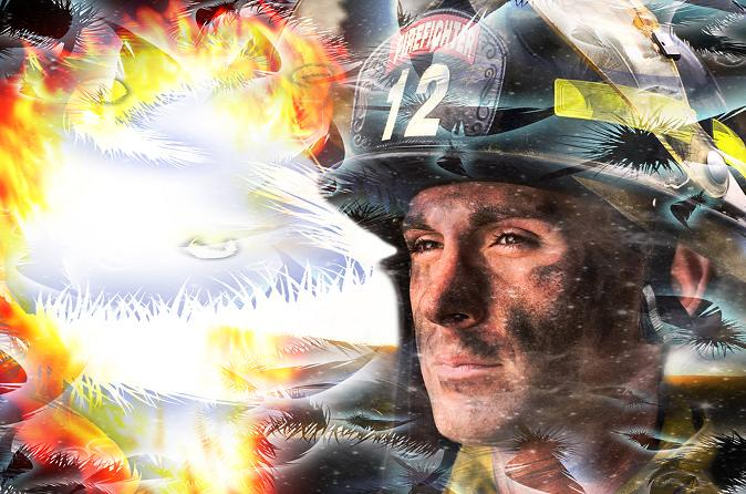 """""""9・11""""をテーマに描きました! http://t.co/x3W34eaA4t"""