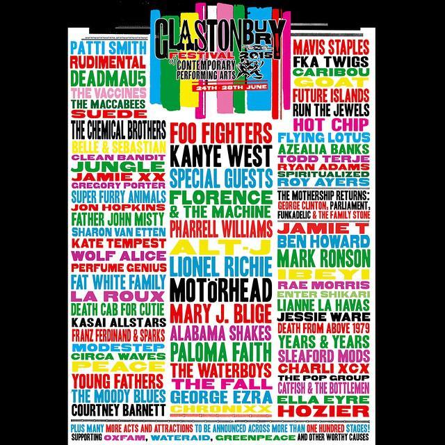 31832b6ced3391 Glastonbury Festival on Twitter