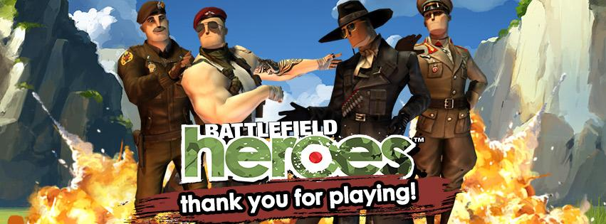We are sad to announce that as of Tuesday July 14th 2015, Battlefield Heroes will be retired. http://t.co/jDUqwey0iB http://t.co/mxkQcL1Okn