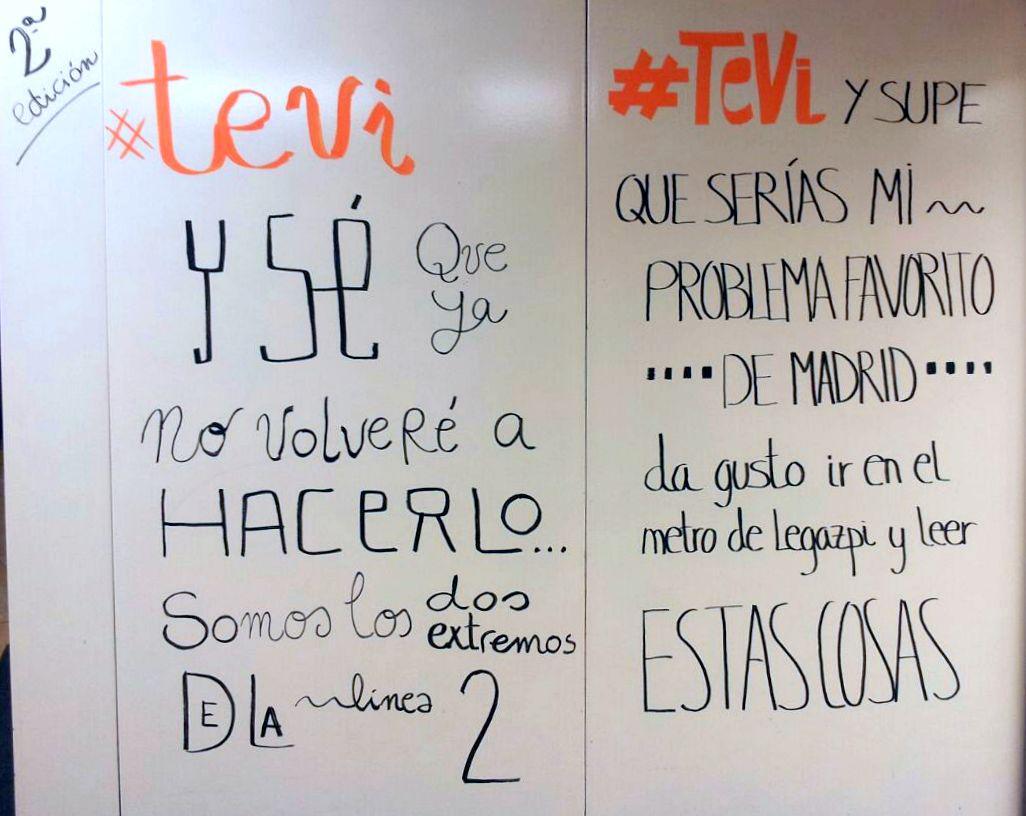 Metro De Madrid On Twitter Nuevas Frases De Amor Comienzan A Verse
