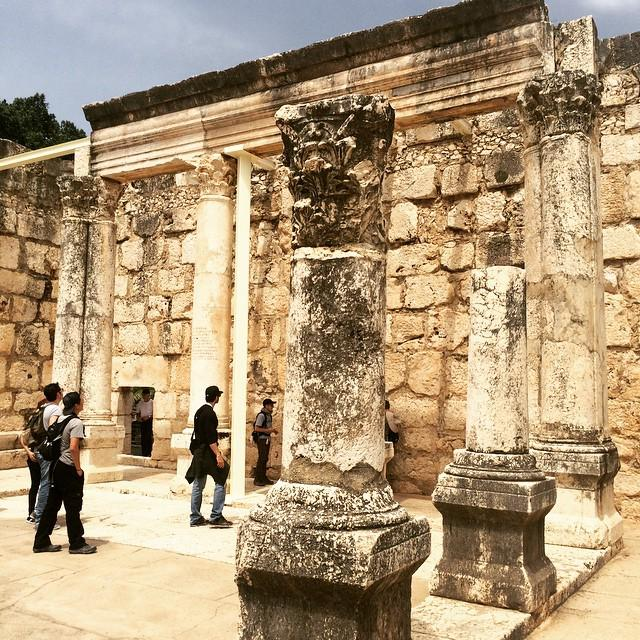 Going back 2,000 years into history... #Capernaum