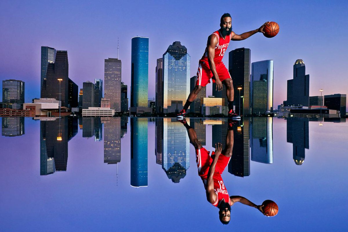 This skyline shot with The Beard is the dopest thing you'll see today. Here's how they got it: http://t.co/TjhOADdIDq http://t.co/fkxnKkvuMT