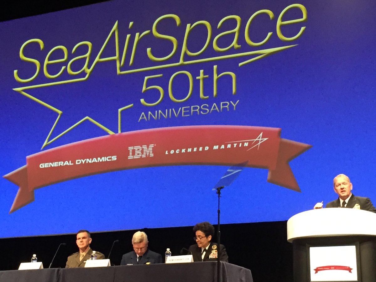 Thumbnail for U.S. Navy Coverage of Sea-Air-Space 2015: Day 3