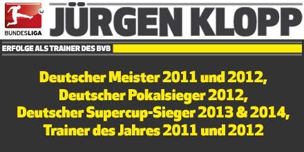 Kann sich sehen lassen: 7 Jahre Jürgen #Klopp beim @BVB http://t.co/ETE4MYbogw