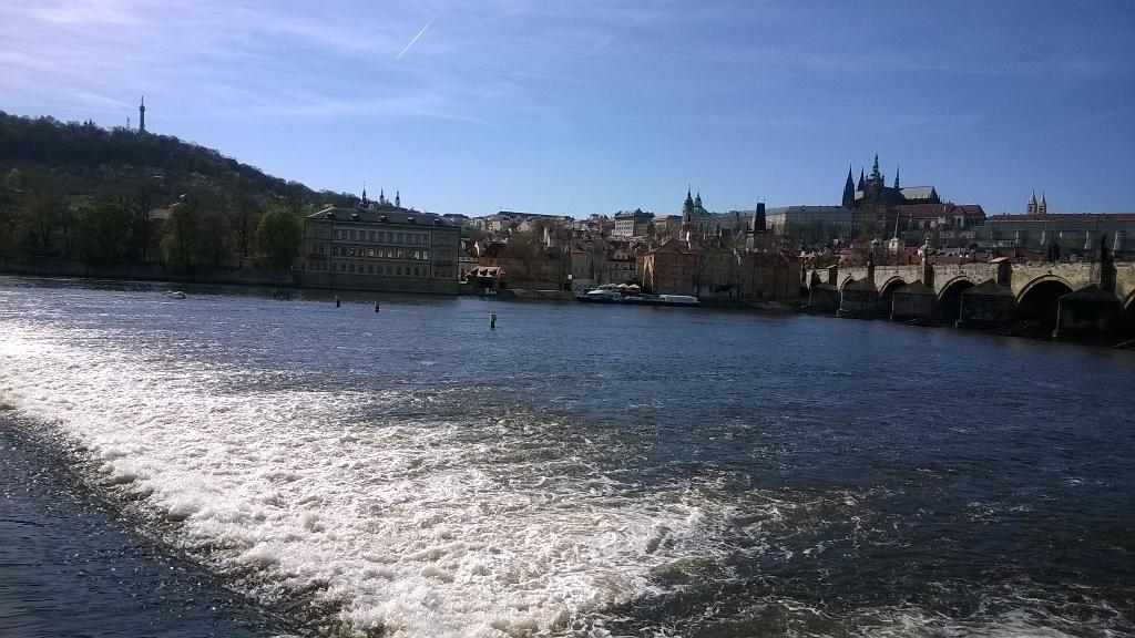 #Sunny day in #Prague #today. Si