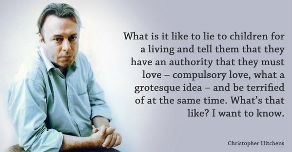 Christopher Hitchens on Twitter: \