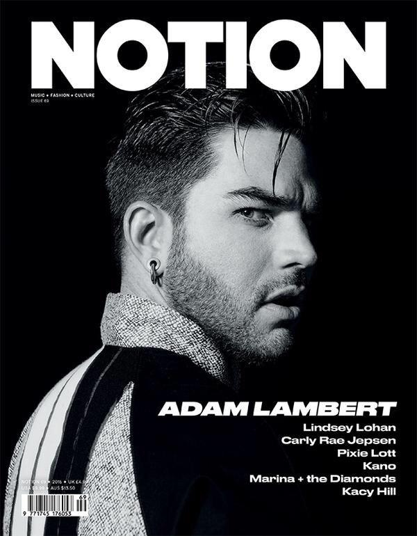 Check out the latest cover of @NotionMagazine with @adamlambert looking rather fit. http://t.co/2W6Kp5oAj1