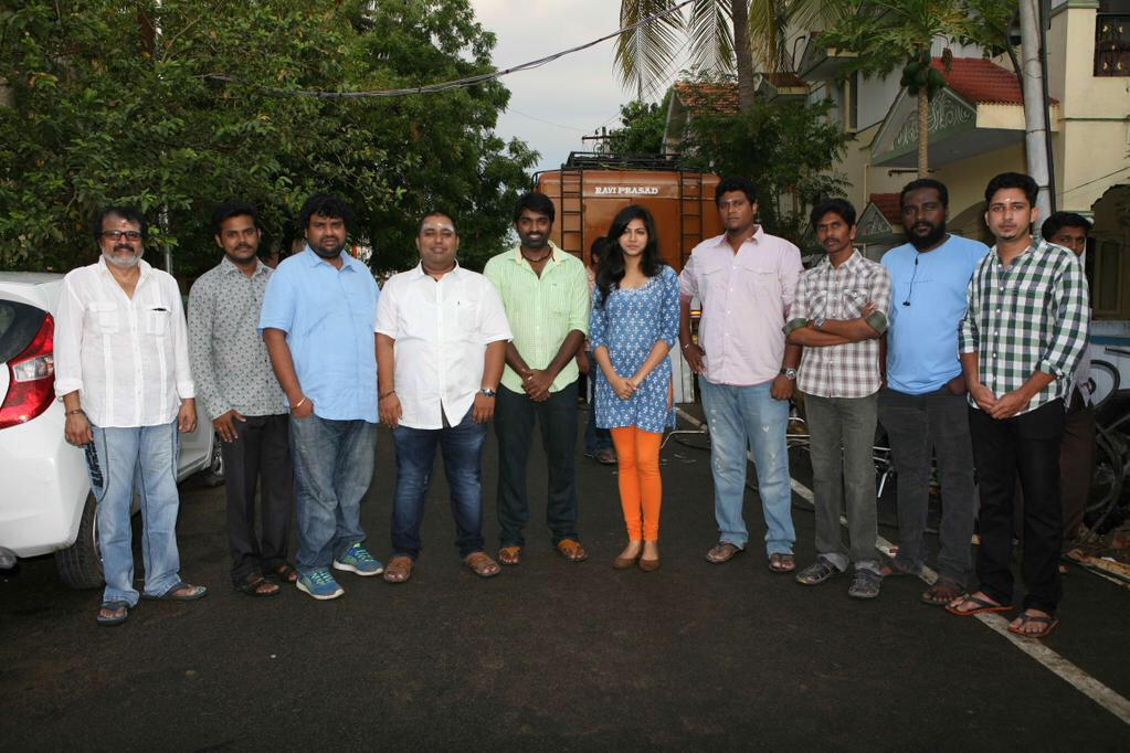 CV Kumar's Prod No.14 with Vijay Sethupathi kick started!