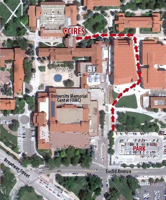 Cnais On Twitter Cucnais Cu Boulder Campus Map With Cires Bldg