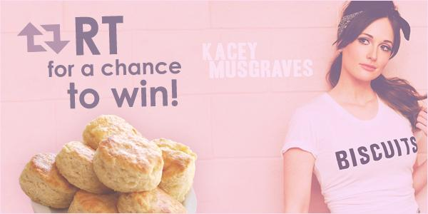 Hungry for music? Just hungry? Retweet for a chance to win Kacey Musgraves tickets & biscuits! #ticketsnbiscuits http://t.co/wY2Iu2uTUm