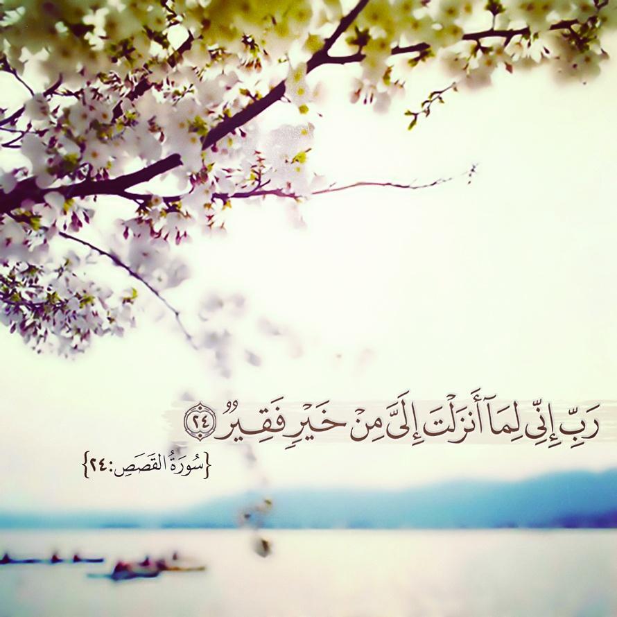 قطوف دعوية On Twitter ر ب إ ن ي ل م ا أ ن ز ل ت إ ل ي