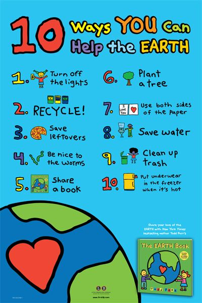 10 ways kids can help the earth for #EarthDay and beyond  #edchat #ntchat http://t.co/wI3WwoiT02