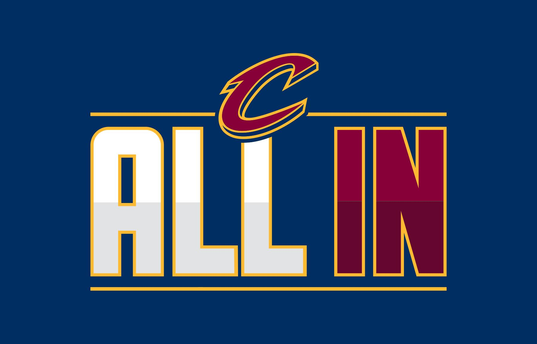 cavs nation on twitter all in will be the playoff catch phrase city and team we are indeed. Black Bedroom Furniture Sets. Home Design Ideas