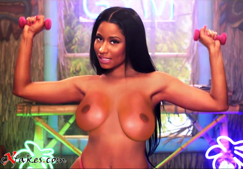 nicki minaj naked ass fucked