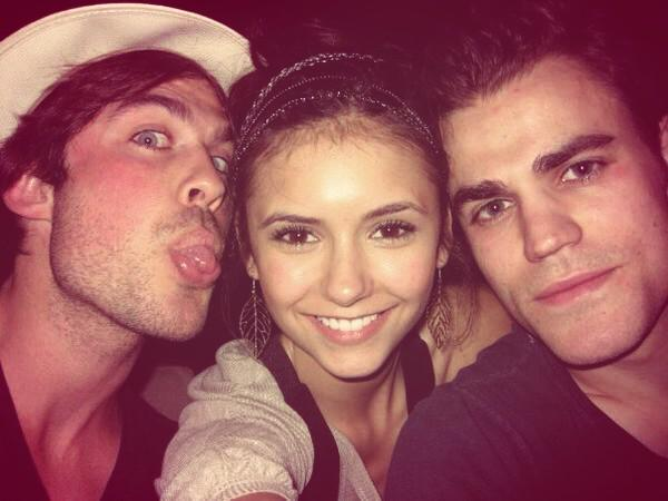 That's a wrap and we know it. I'm going to always miss what was. Thank You Nina Dobrev @ninadobrev http://t.co/oPY4tnH3x8
