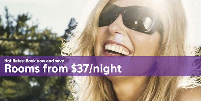 Hot Rates: Reserve your stay now and save Big! Rooms from $37/night #Vegas http://t.co/pcLSV9InkT http://t.co/4AnhARyPVA