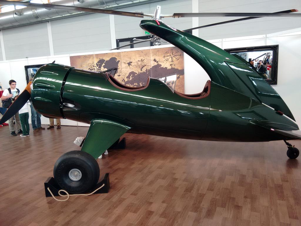 Bulldog autogyro at Aero2015 - Other Rec Aircraft