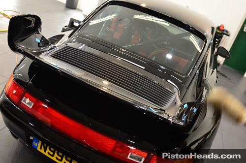 PistonHeads on Twitter Road legal 993 Cup car among Porsche