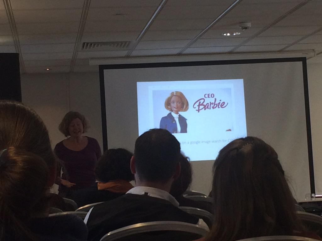 CEO Barbie!! #cifa2015 #everydaysexism http://t.co/5wpQbNAffn