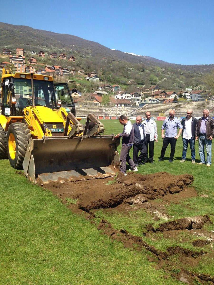 Work got underway in Tetovo as well