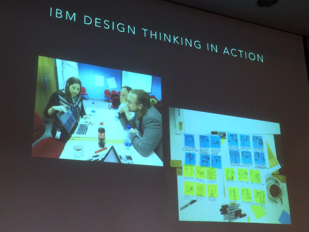 @suzielivingston singing the praises of #IBMDesign and @MEMillerID at #soccnx http://t.co/NeZtBSWyHt