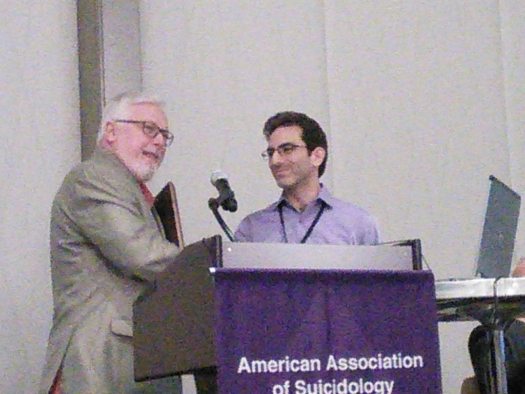 congrats #Klonsky combining science w passion #AAS15 http://t.co/JPFlCHz2H1