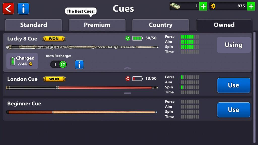 Lucky 8 Auto >> Imcold On Twitter I Won The Lucky 8 Cue In Pool