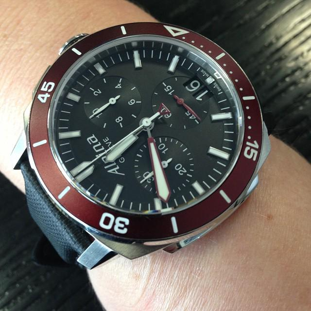 Alpina Watches On Twitter Alpina Seastrong Diver Chronograph - Alpina watches