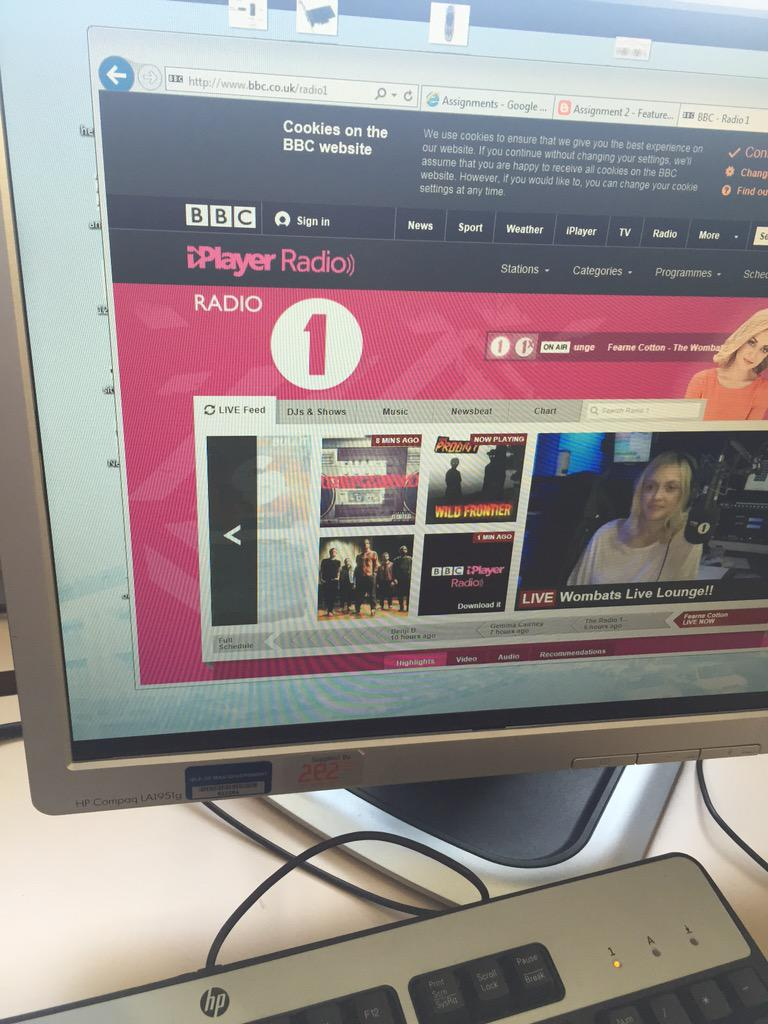 RT @Ryan_Healy96: At college watching the live lounge and that was so good!can't wait to see them at @Tinthepark @BBCR1 @Fearnecotton http:…