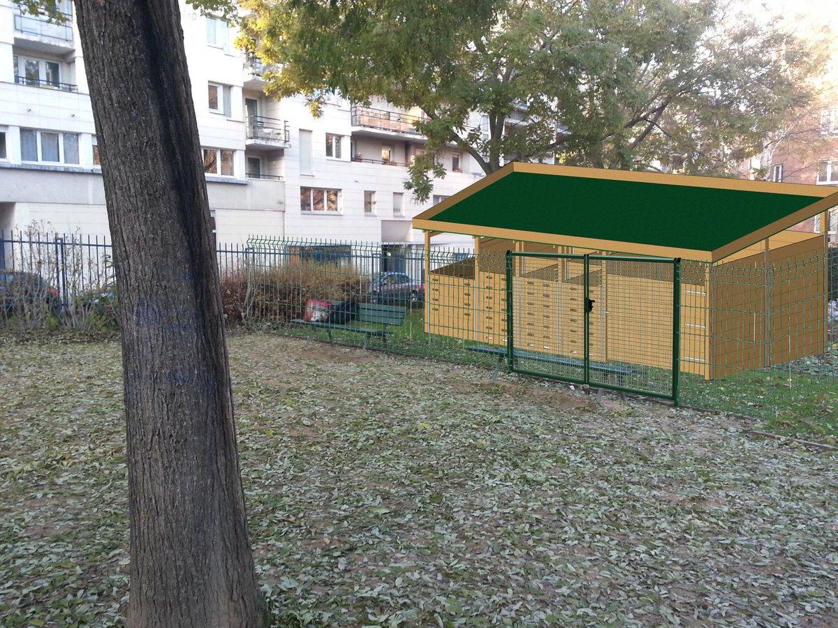 Montage #compost de quartier le 18/04-square Héloïse et Abélard #mairiedu13 ! @ActParisDurable  http:// petitlien.fr/7z7j    pic.twitter.com/DP32SN4An1
