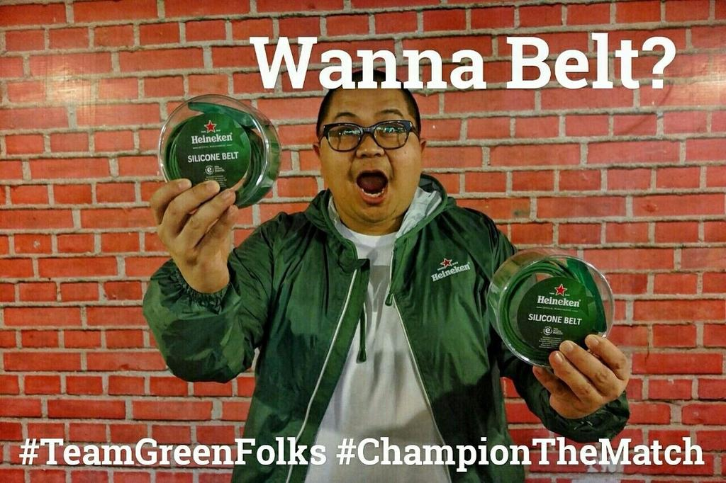 Support !!! #TeamGreenFolks for #ChampionTheMatch @HeinekenID cc @rayregis http://t.co/Sitordmmr9