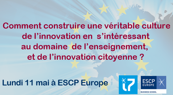 """Thumbnail for Colloque """"Europe, terre d'innovation"""""""