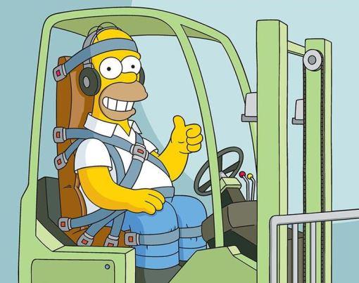 Toyota Equipment On Twitter Quot Cartoon Homer Simpson