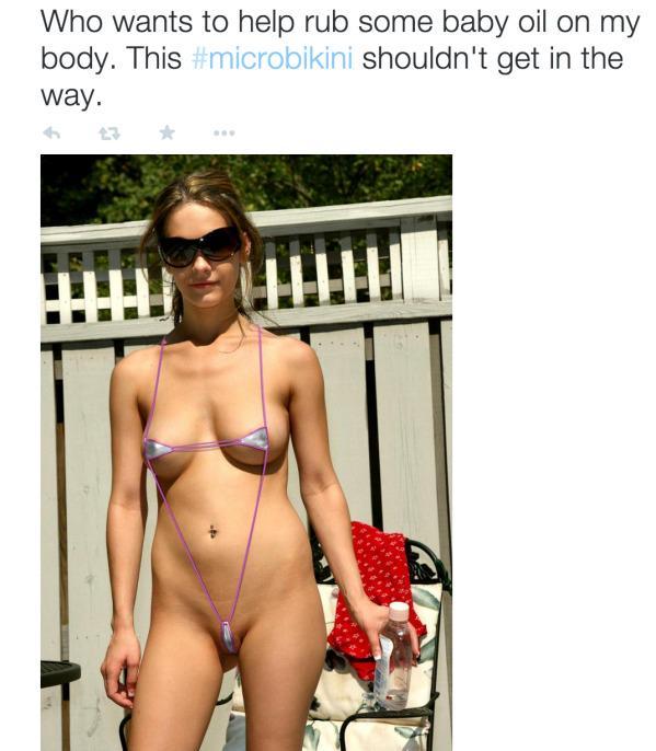 Micro Bikini In Public 56